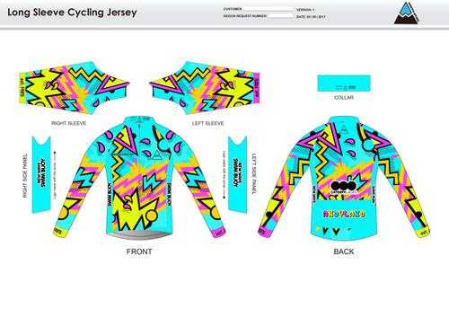 Andrea Long Sleeve Cycling Jersey