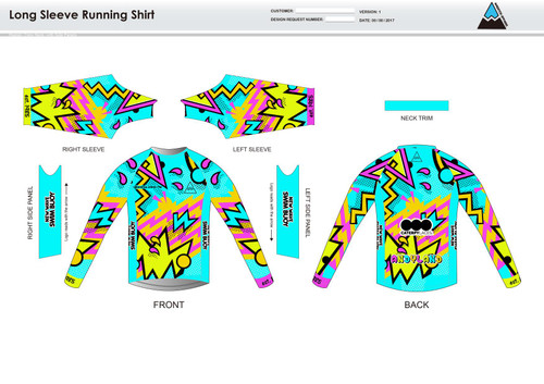 Andrea Long Sleeve Running Shirt