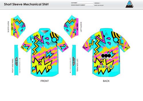 Andrea Adult Mechanic Shirt - UNISEX Sizing