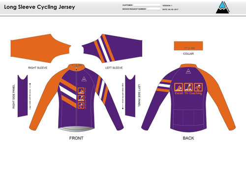 Excell Long Sleeve Cycling Jersey