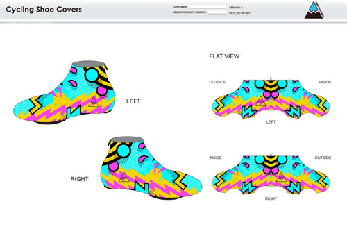 Andrea Cycling Shoe Covers