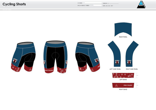 Aces and Eights Cycling Shorts