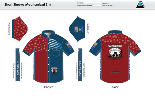 Aces and Eights Youth Mechanic Shirt