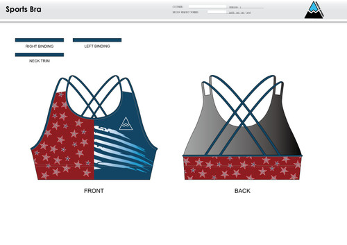 Aces and Eights Sports Bra