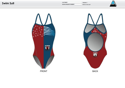 Aces and Eights Women's One Piece Swimsuit