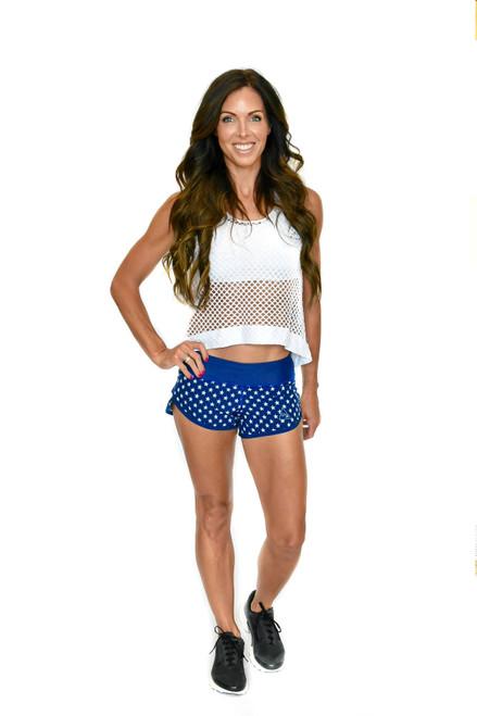 Stars Women's Zoom Running Shorts