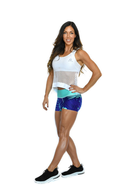 Palm Women's Compression Fitness Shorts