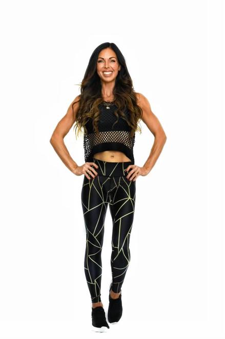 Lightning Women's Full Length Fitness Tights