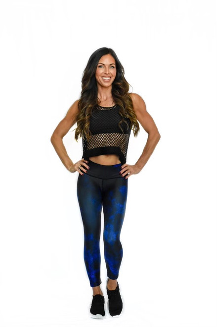 Midnight Women's 3/4 Fitness Tights