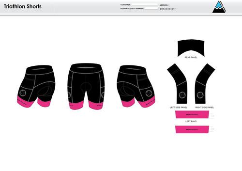 RHR Men's Tri Shorts