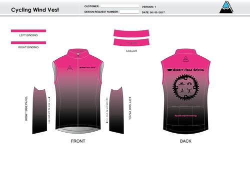 RHR Cycling Wind Vest