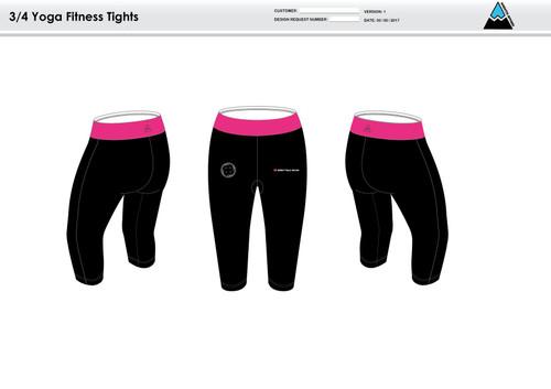 RHR Women's 3/4 Fitness Tights