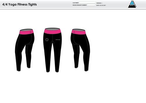RHR Women's Full Length Fitness Tights