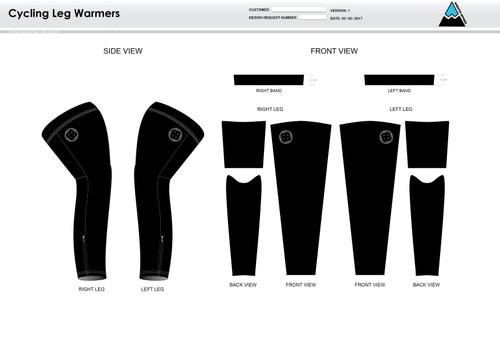 RHR Cycling Leg Sleeves