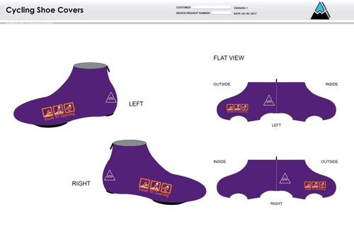 Excell Cycling Shoe Covers