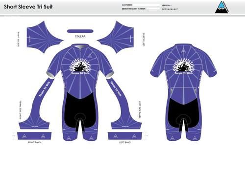 Tucson Short Sleeve Tri Suit