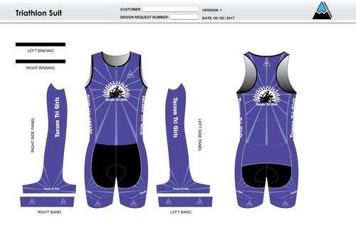 Tucson Sleevless Tri Suit
