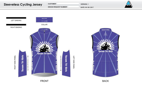 Tucson Sleeveless Cycling Jersey