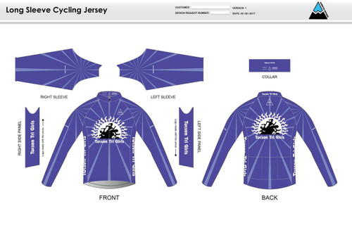 Tucson Long Sleeve Cycling Jersey