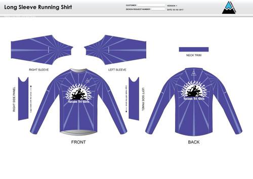 Tucson Long Sleeve Running Shirt