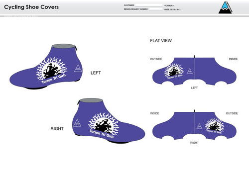 Tucson Cycling Shoe Covers