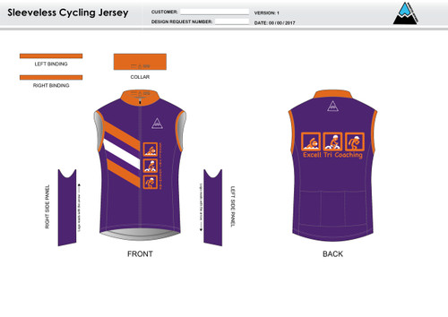 Excell Sleeveless Cycling Jersey