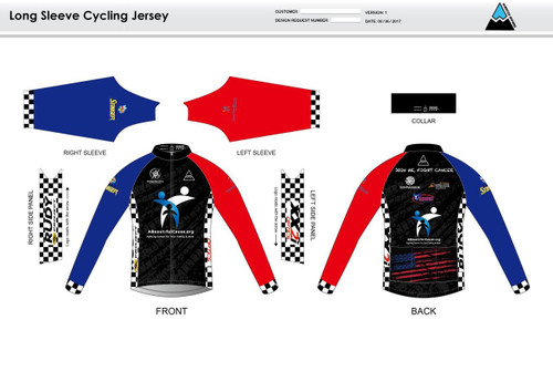 Culbertson Long Sleeve Thermal Cycling Jersey