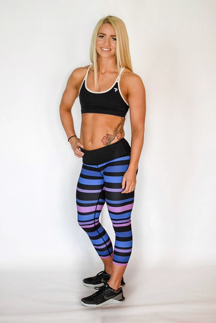 The Blues Women's 3/4 Fitness Tights