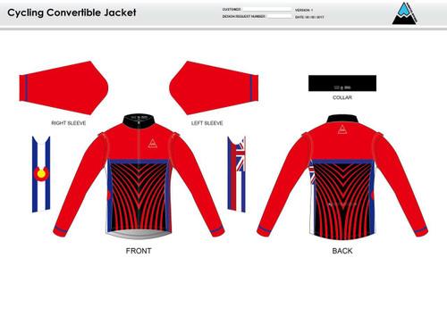 Team Preston Convertible Jacket