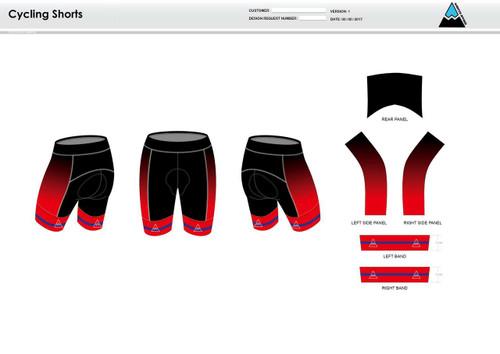 Team Preston Cycling Shorts