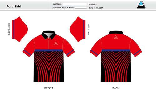 Team Preston Adult Polo Shirt