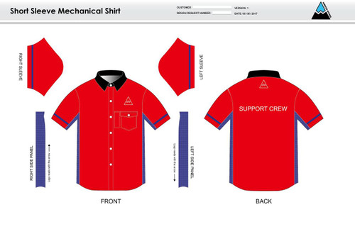 Team Preston Adult Mechanic Shirt - UNISEX sizing