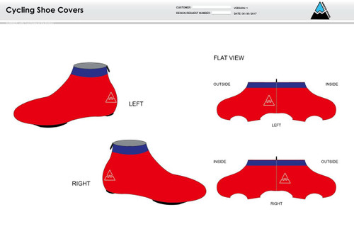 Team Preston Cycling Shoe Covers