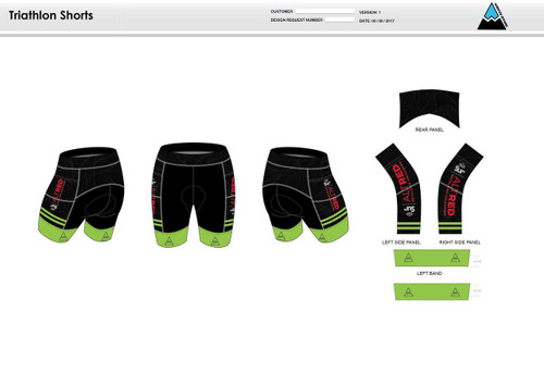 Lycoming Tri Club Men's Tri Shorts