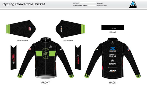 Lycoming Tri Club Convertible Jacket