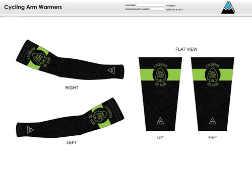 Lycoming Tri Club Cycling Arm Sleeves