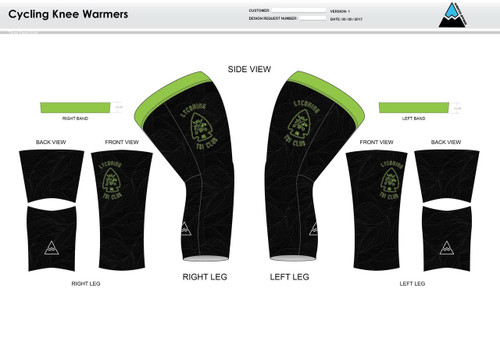 Lycoming Tri Club Cycling Knee Sleeves