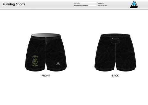Lycoming Tri Club Running Shorts