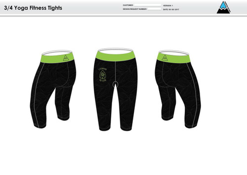 Lycoming Tri Club Women's Fitness Tights