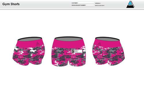Ellis Women's Compression Fitness Shorts