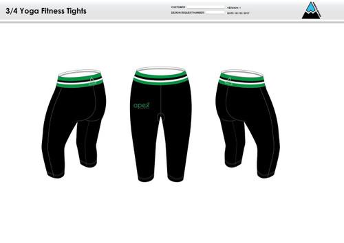 Apex Stretch Stripe Women's Fitness Tights