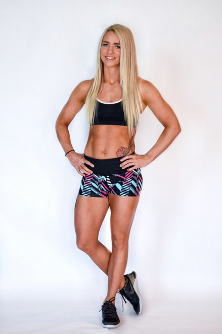 Glacier Women's Compression Fitness Shorts