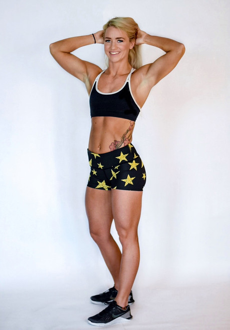 Super Star Women's Compression Fitness Shorts