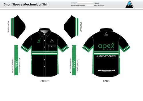 Apex Stretch Stripe Youth Mechanic Shirt