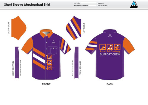 Excell Youth Mechanic Shirt