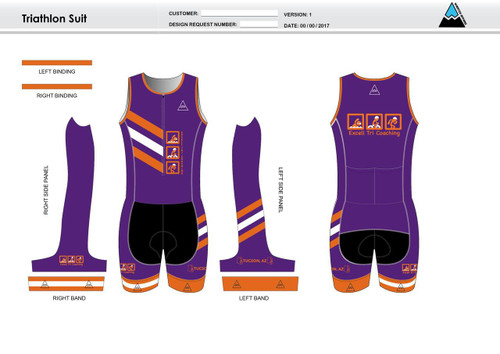 Excell Youth Sleeveless Tri Suit