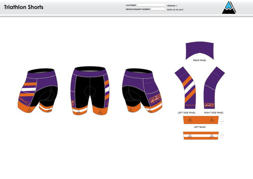 Excell Youth Tri Shorts