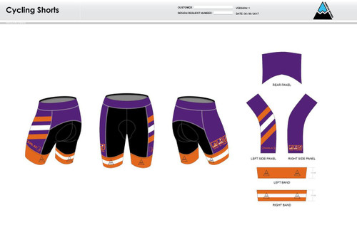 Excell Youth Cycling Shorts