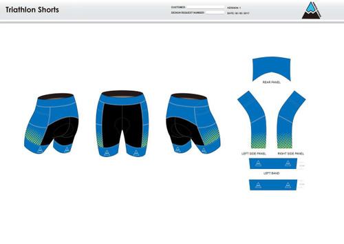 Gulf Coast Multisport Neon Youth Tri Shorts