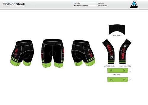 Lycoming Tri Club Youth Tri Shorts